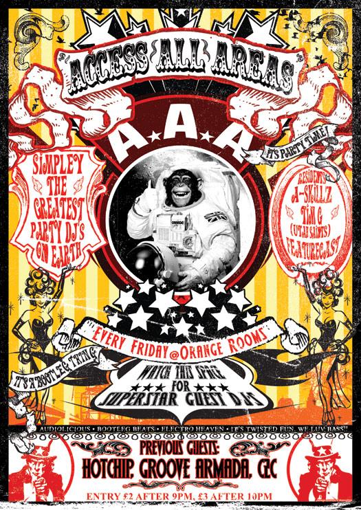 circus design Vintage